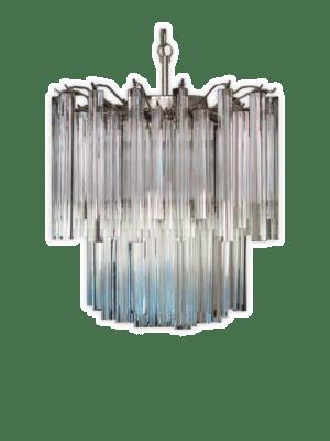 murano lampe tridei 107 prismer klar