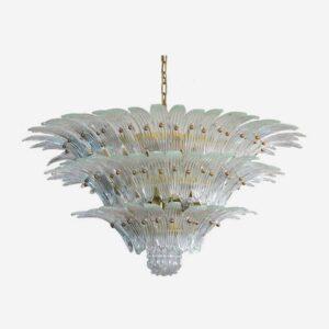 Klar murano palmette loftslampe