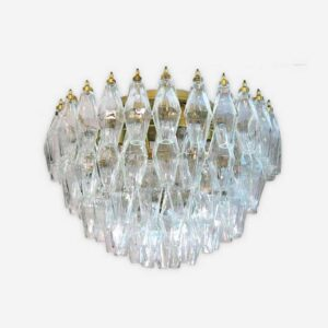 poliedri murano lampe klar
