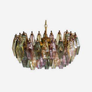Murano - Poliedri Multifarvet lille