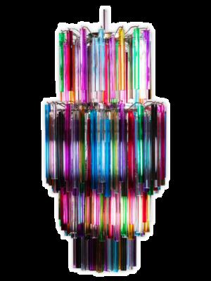 Murano lysekrone multi 242 prismer