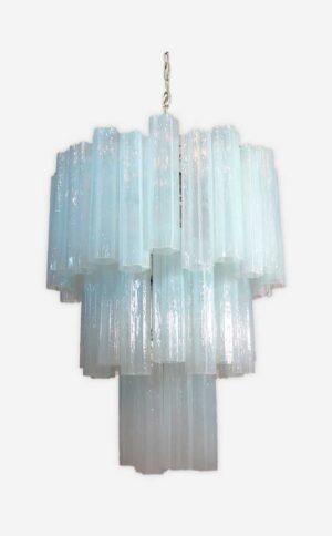 opal farvet muranolampe lille model