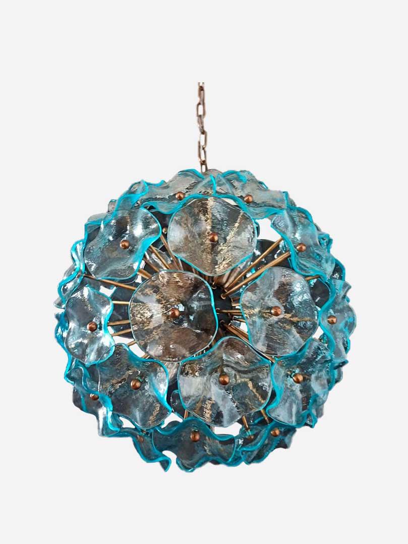 Murano - Sputnik - Poppy - blå
