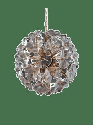 Murano-lysekrone-poppy-klare-glas-kristallkrona