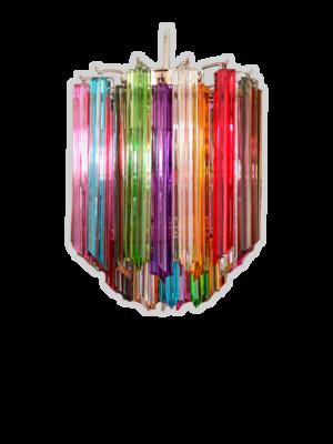 Murano-lysekrone-multi-56-prismer-kristallkrona