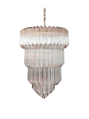 Murano-lysekrone-112-klare-prismer
