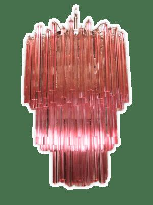 Murano-lysekrone-184-rosa-murano-lysekrone-kristallkrona