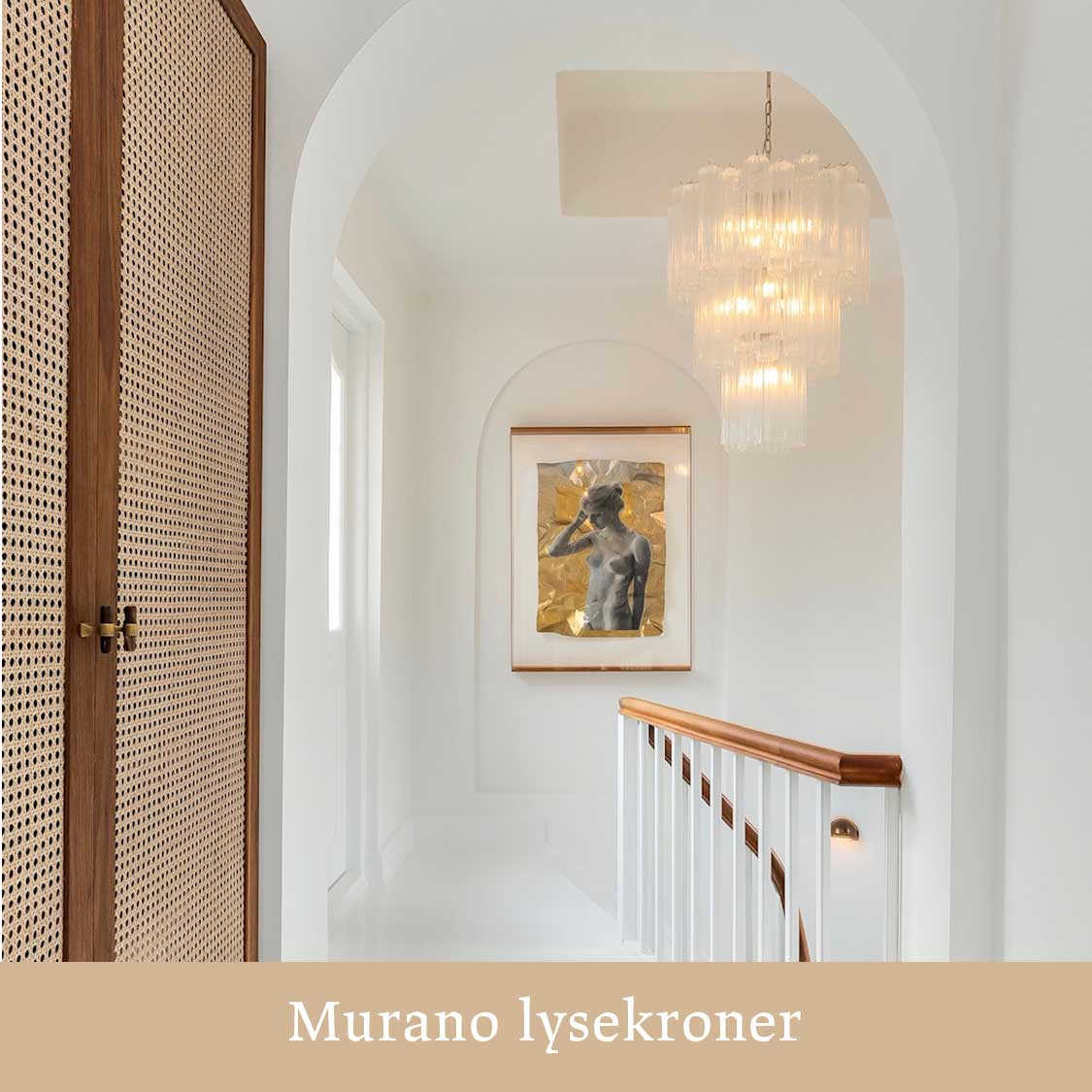 Murano lysekrone hos Betina Asbæk køb den hos Cherry Vintage
