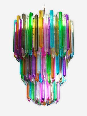 Murano lysekrone multi 185 prismer