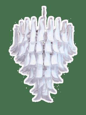 Murano lysekrone klare blade kristallkrona