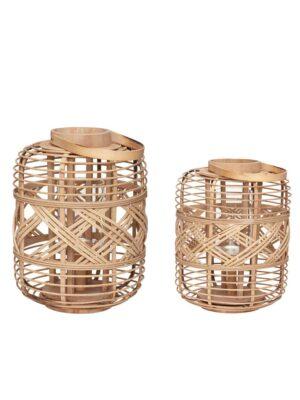 Lanterne i bambus