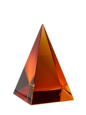 Brevpresser krystal ravgul