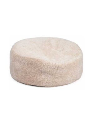 Bean Bag of New Zealand Sheepskin   Short-Wool with calf leather backing   Size:90x90cm