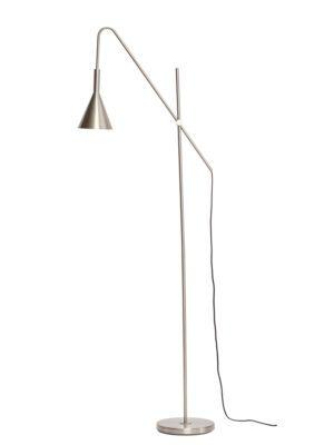 Hübsch Gulvlampe,-metal,-nikkel-4